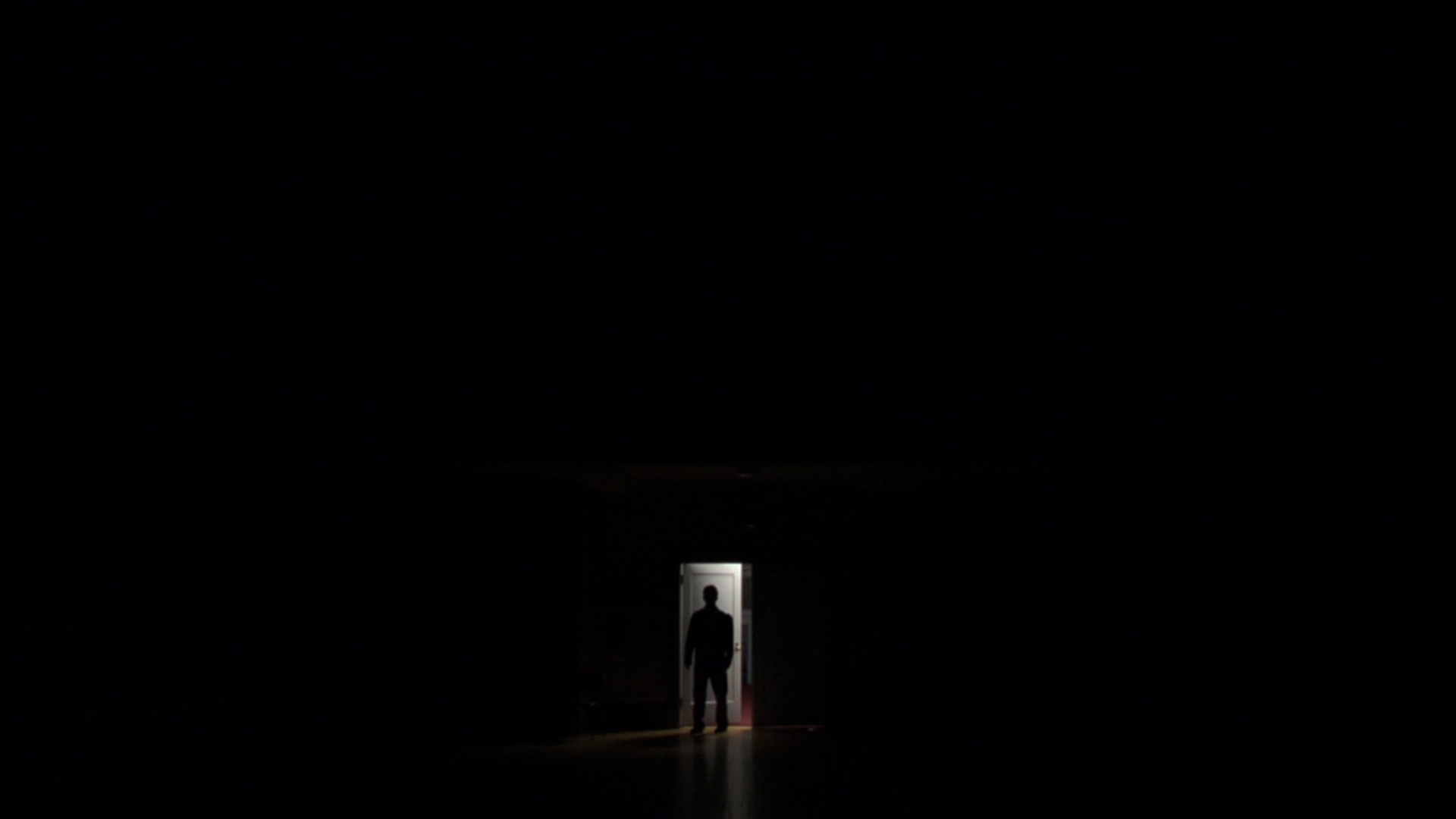 Dark Room with Person